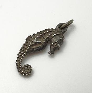 Vintage Sterling Silver Sea Horse Charm