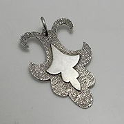 Unique Artisan Handmade Sterling Silver Pendant