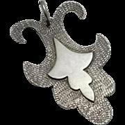 Unique Artisan Handmade Sterling Silver Pendant