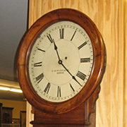 "E. Howard & Co Regulator 70-16"" Dial Clock"