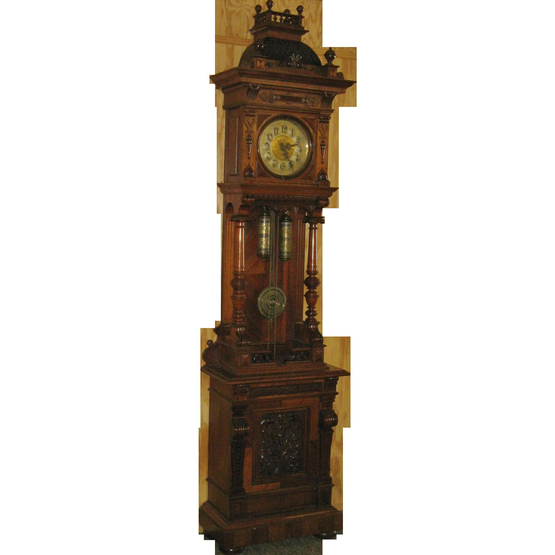 german grandfather wall clock wall clocks
