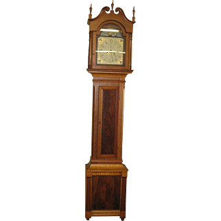 Pennsylvania Tall Case Grandfather Clock