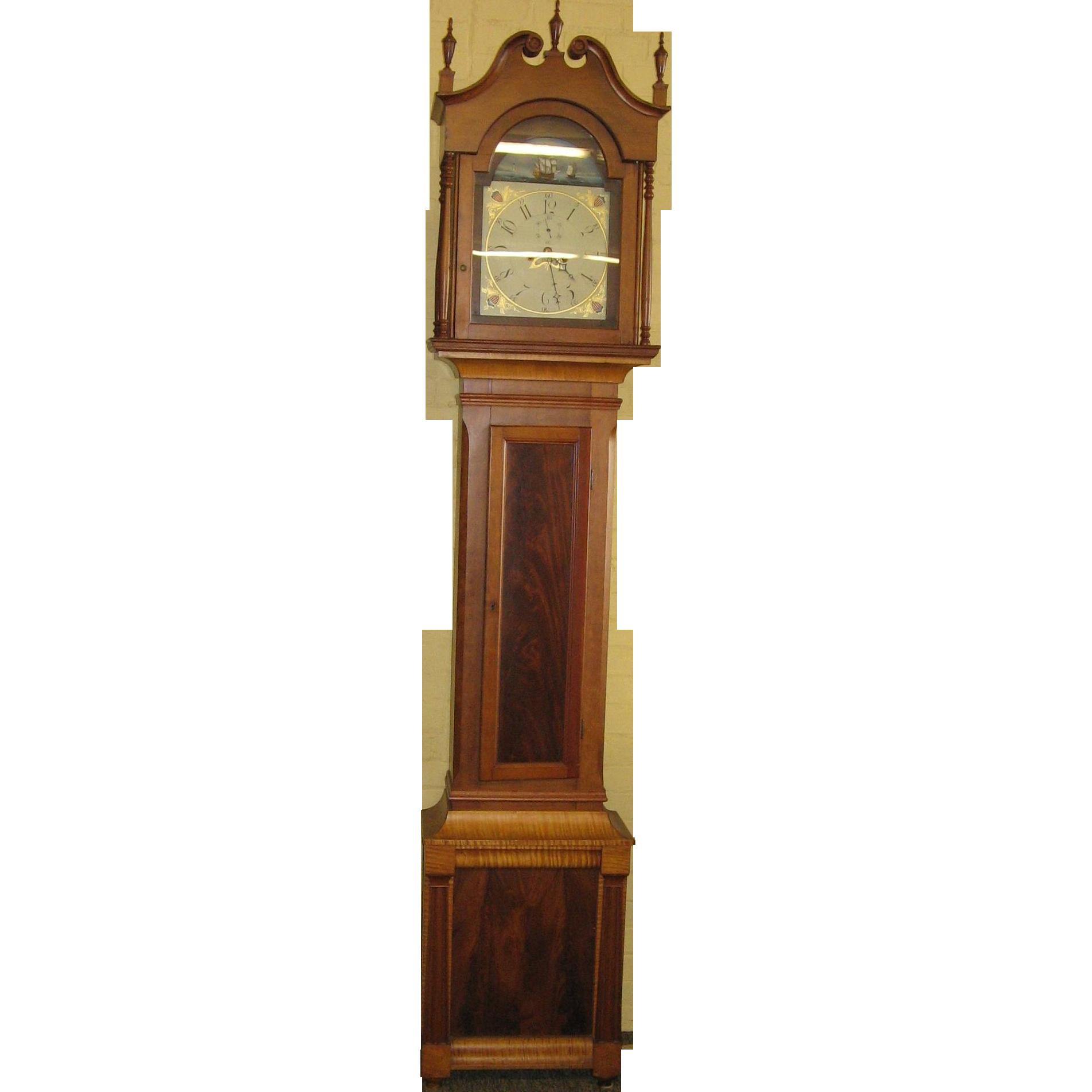 Pennsylvania Tall Case Grandfather Clock