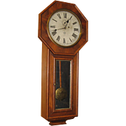 New Haven Office #2 Weight Regulator Wall Clock