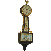Seth Thomas Banjo Clock #1