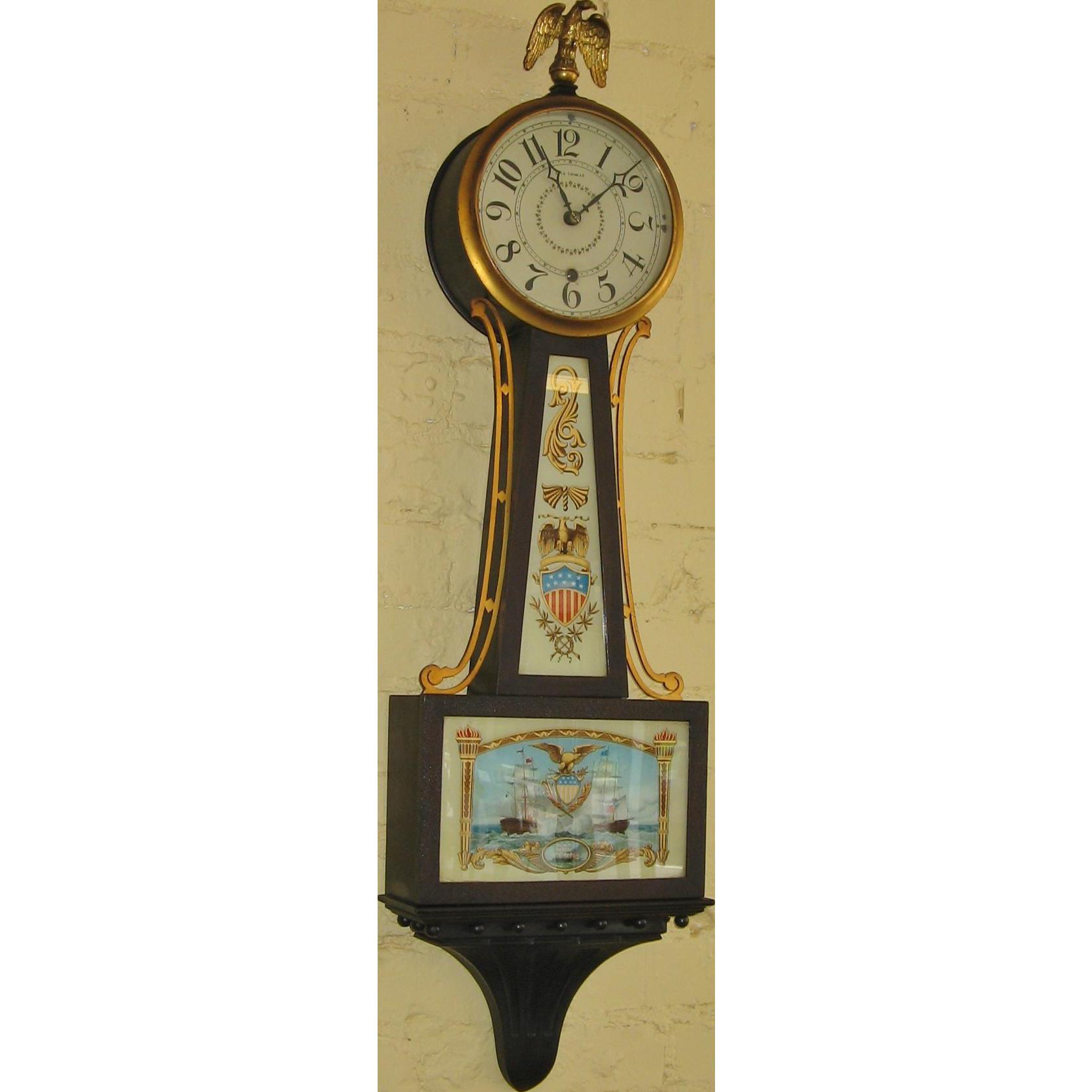 Seth Thomas Banjo Clock #1