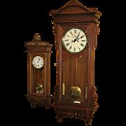 Waterbury Regulator #57 Weight Driven Wall Clock