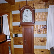 Thomas & Hoadley Tall Case Clock W/W