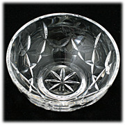 Waterford Crystal Bowl Love and Kisses Hand Cut Irish Crystal Hearts