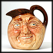 Royal Doulton John Barleycorn Toby Jug Miniature 1940 English Pottery