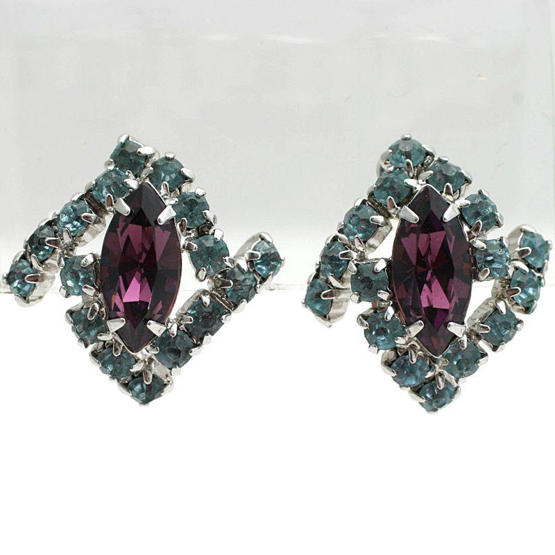 Item ID: Am-Bl-Earrings In Shop Backroom