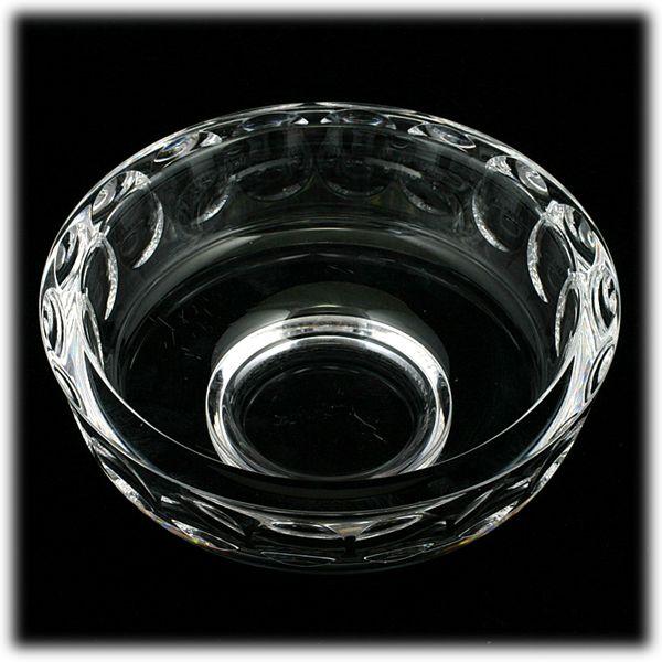 Orrefors Torup Cut Crystal Bowl Sven Palmqvist 1960s Vintage Art Glass