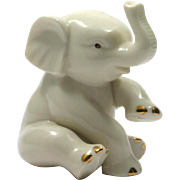 Lenox Porcelain Elephant Figurine China Paperweight Ivory Colour