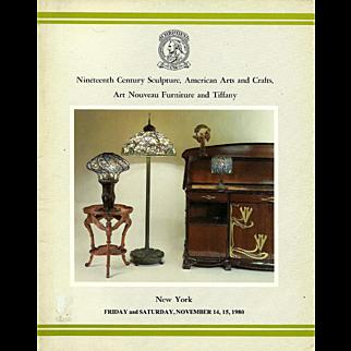 Christie's Catalog 1980 Tiffany Nineteenth Century Arts and Crafts Art Nouveau