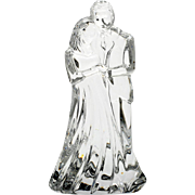 Waterford Crystal Bride and Groom Figurine Irish Cut Glass Wedding Anniversary Gift