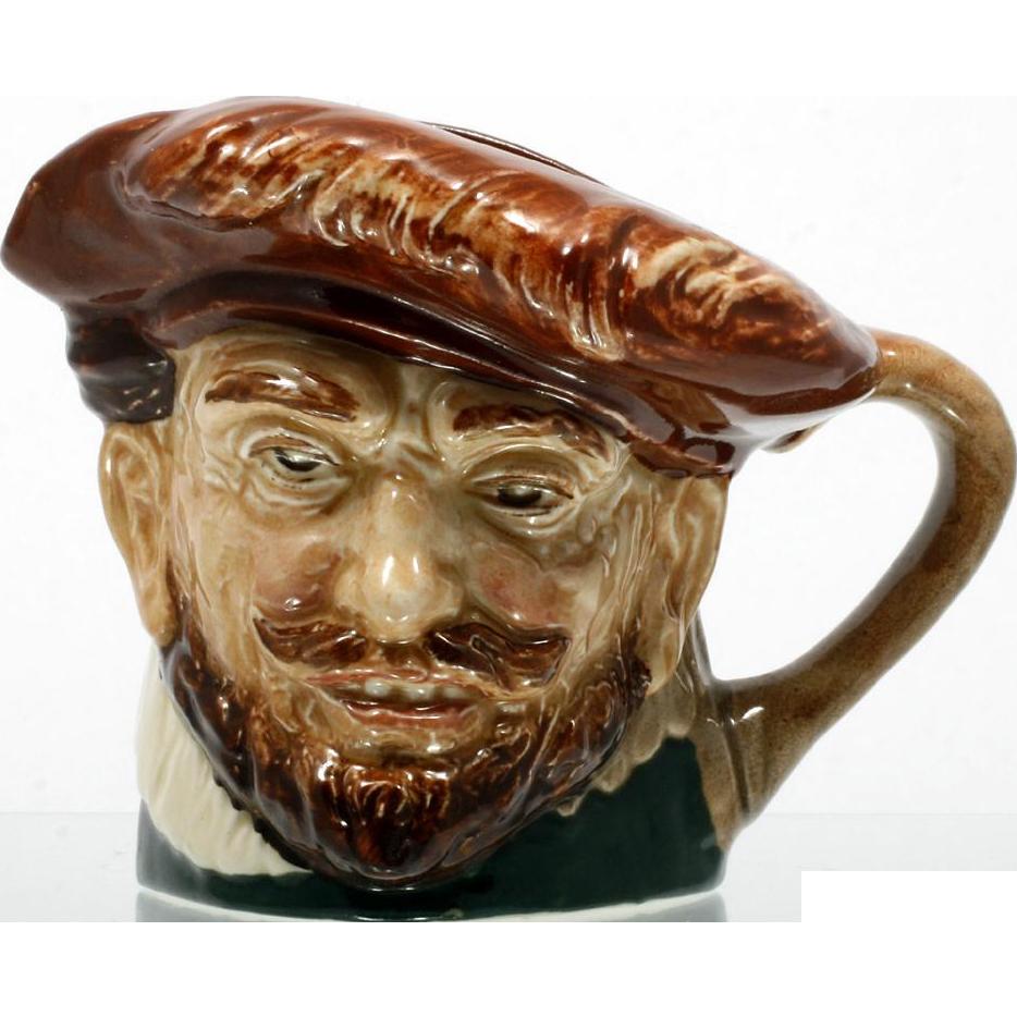 Royal Doulton Toby Mug Sir Francis Drake Jug Vintage 1940s Pottery English