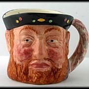 Vintage Lancaster Sandland Bluff King Hal Toby Mug Jug English Pottery