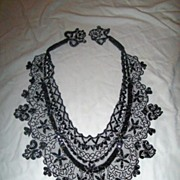 Vintage Beaded Boudoir Cape or Collar