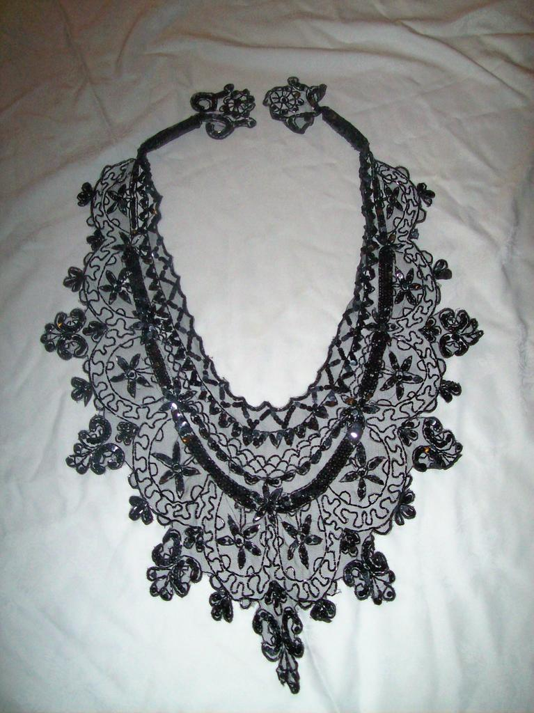 Vintage Beaded Boudoir Cape or Collar