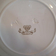 Trans-fer Ware Plates Brown England