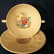 Wedgewood Cream Soup Bowl Set ** Wellesley**