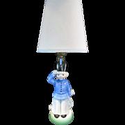 Vintage Juvenile Lamp Soldier Germany