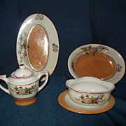 Vintage Childs Dishes lustre-ware Japan