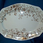 Vintage Transferware Large Platter Pattern Frisco