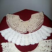 Crochet Collars  ( 3 )  In Box