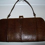 Vintage Snakeskin Purse/Handbag