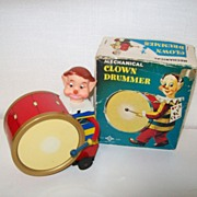 Tin Drummer /Box Post - War Toy Wind up