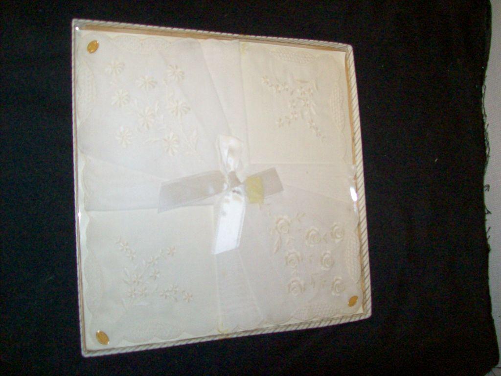 Item ID: 314 Handkerchief / box In Shop Backroom