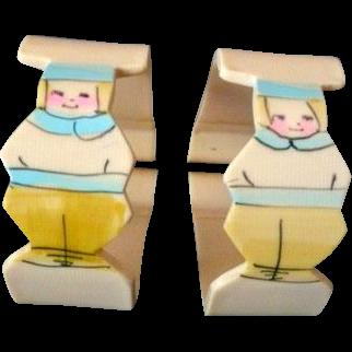 Sweet Dutch Child Baby Blanket Clips