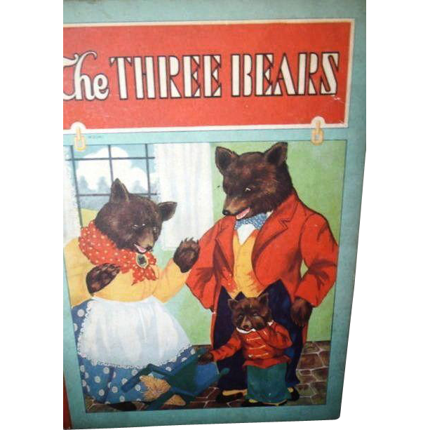 Whitman The Three Bears 1927