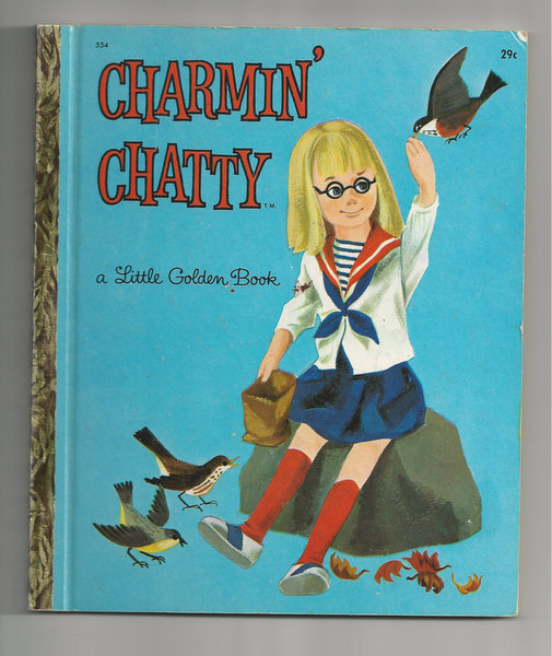 Charmin' Chatty Little Golden Book First Edition