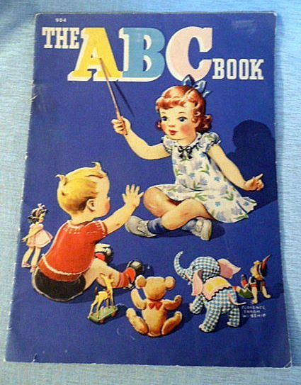 Cloth Like ABC Children's Book