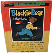1935 Blackie Bear Stories, Whitman Publishing Company