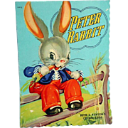 1938 Peter Rabbit Picture Book by Ruth E. Norton
