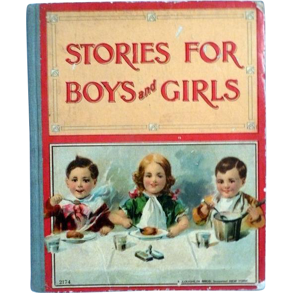 Children's Book Stories for Boys and Girls 1912