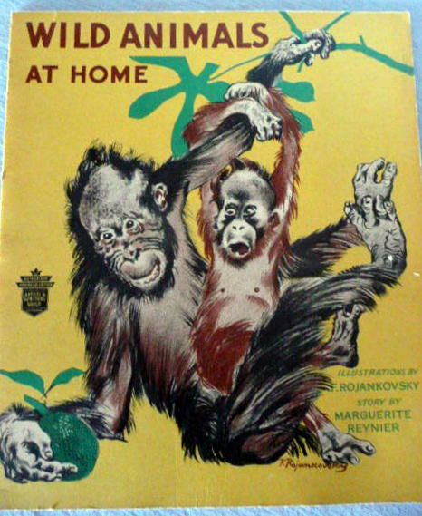 Children's Book:  Wild Animals at Home