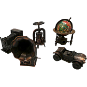 "Metal Miniature ""Toy"" Pencil Sharpeners"