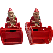 Celluloid Santa in Sleigh