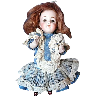 """All Bisque Mold #150 7"""" Doll"""