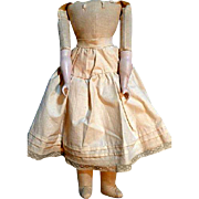 Nice Cloth Body for  Bisque  Shoulder Head  Doll