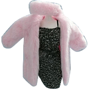 Pink Barbie Coat and Head Piece