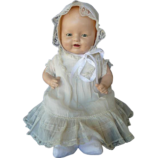 E.I. Horsman Baby Dimples Original Dress and Onesie