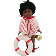 Vintage Black Ginny Doll in Box