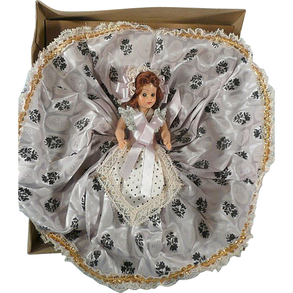 Vintage Boxed 7 Inch Plastic Doll