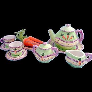 Beautiful Bunnies Tea Set