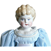 "Blonde 10"" China Head Doll"